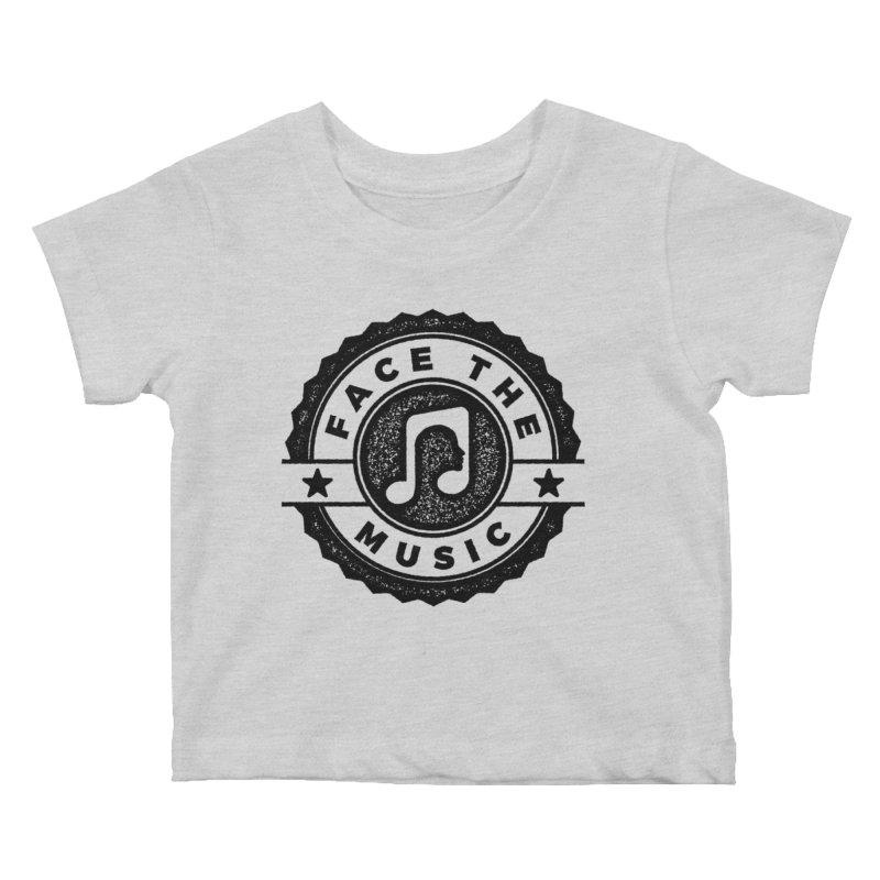 Face the Music Kids Baby T-Shirt by 9th Mountain Threads