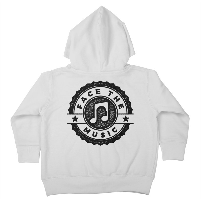 Face the Music Kids Toddler Zip-Up Hoody by 9th Mountain Threads