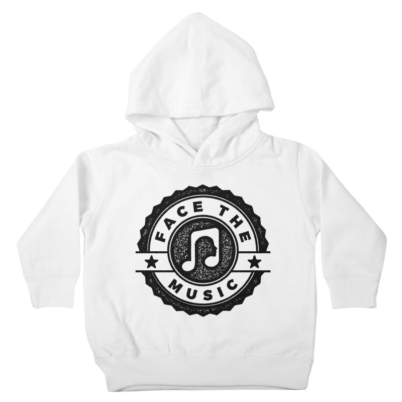 Face the Music Kids Toddler Pullover Hoody by 9th Mountain Threads