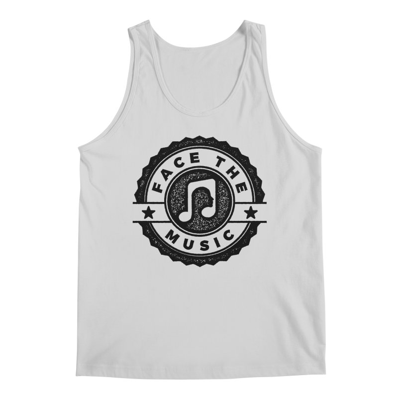 Face the Music Men's Regular Tank by 9th Mountain Threads