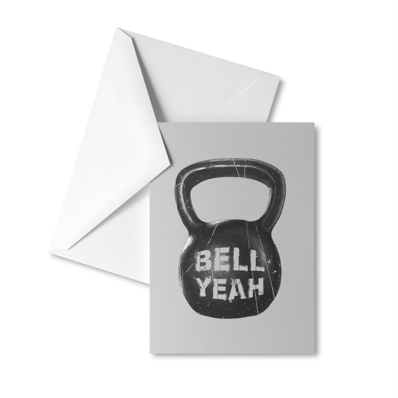 Bell Yeah Accessories Greeting Card by 9th Mountain Threads