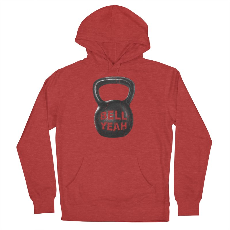 Bell Yeah Women's French Terry Pullover Hoody by 9th Mountain Threads