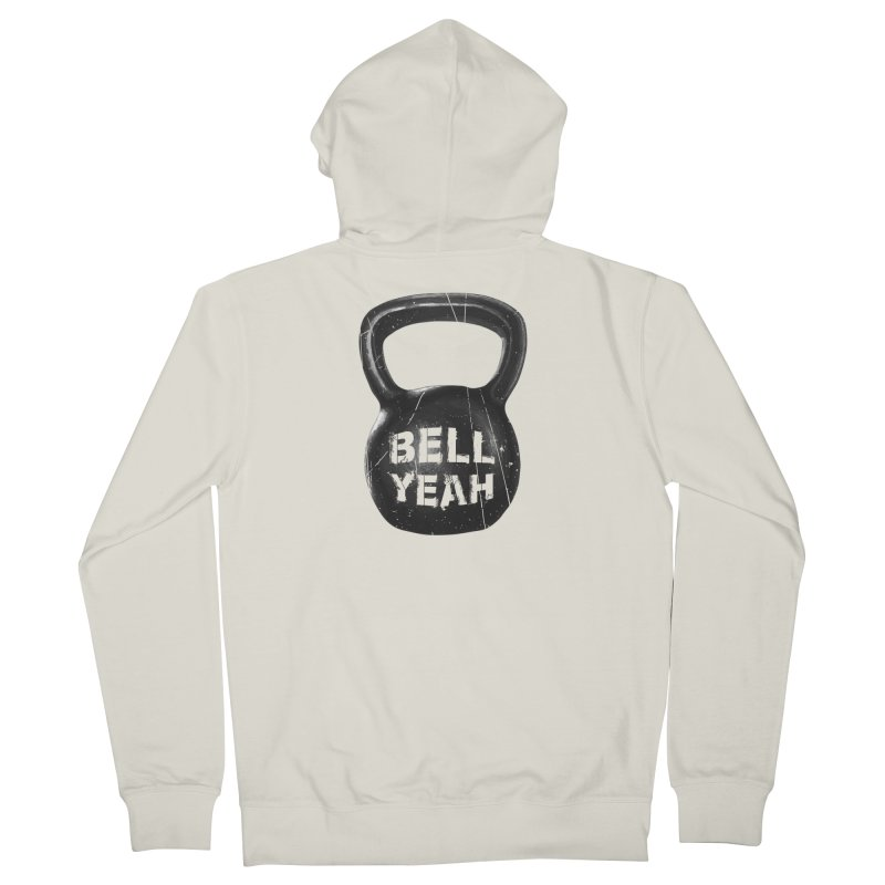 Bell Yeah Men's French Terry Zip-Up Hoody by 9th Mountain Threads