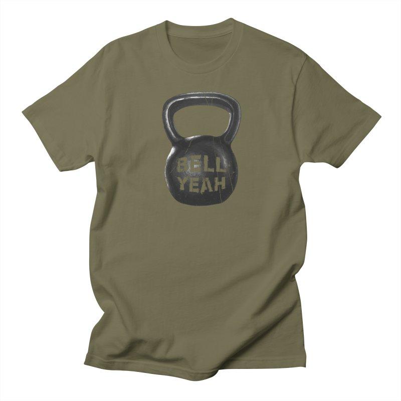 Bell Yeah Men's Regular T-Shirt by 9th Mountain Threads