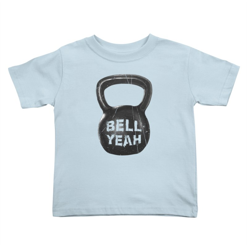 Bell Yeah Kids Toddler T-Shirt by 9th Mountain Threads