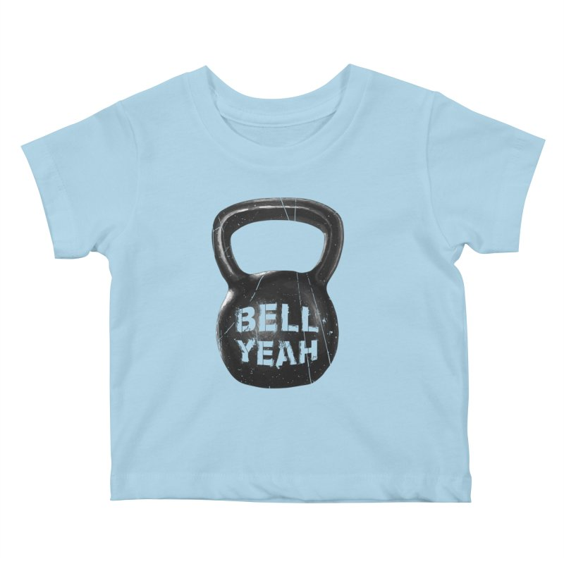 Bell Yeah Kids Baby T-Shirt by 9th Mountain Threads