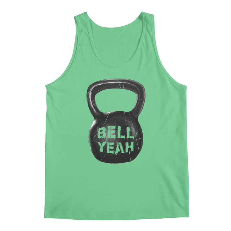 Bell Yeah Men's Regular Tank by 9th Mountain Threads