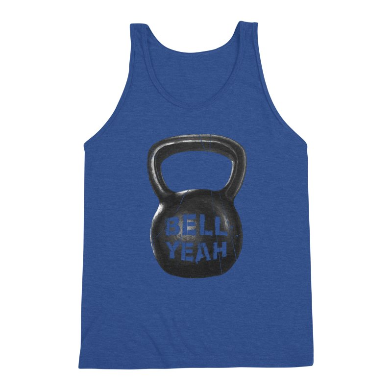 Bell Yeah Men's Triblend Tank by 9th Mountain Threads