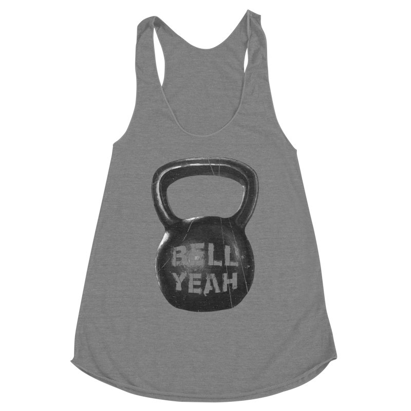 Bell Yeah Women's Racerback Triblend Tank by 9th Mountain Threads