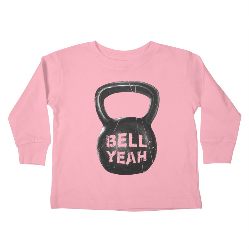 Bell Yeah Kids Toddler Longsleeve T-Shirt by 9th Mountain Threads