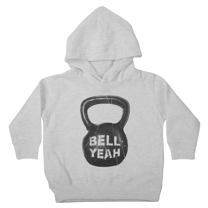 Bell Yeah Kids Toddler Pullover Hoody by 9th Mountain Threads