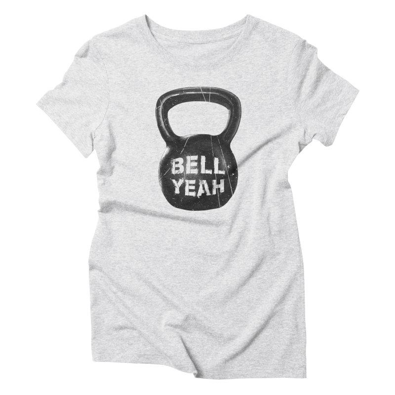 Bell Yeah Women's Triblend T-Shirt by 9th Mountain Threads