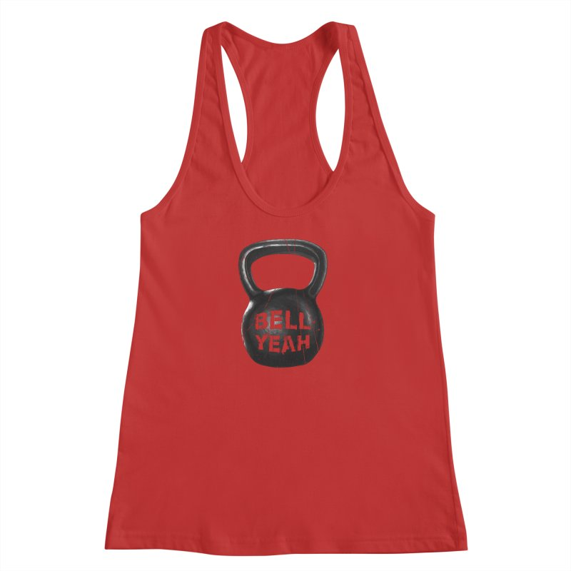 Bell Yeah Women's Racerback Tank by 9th Mountain Threads