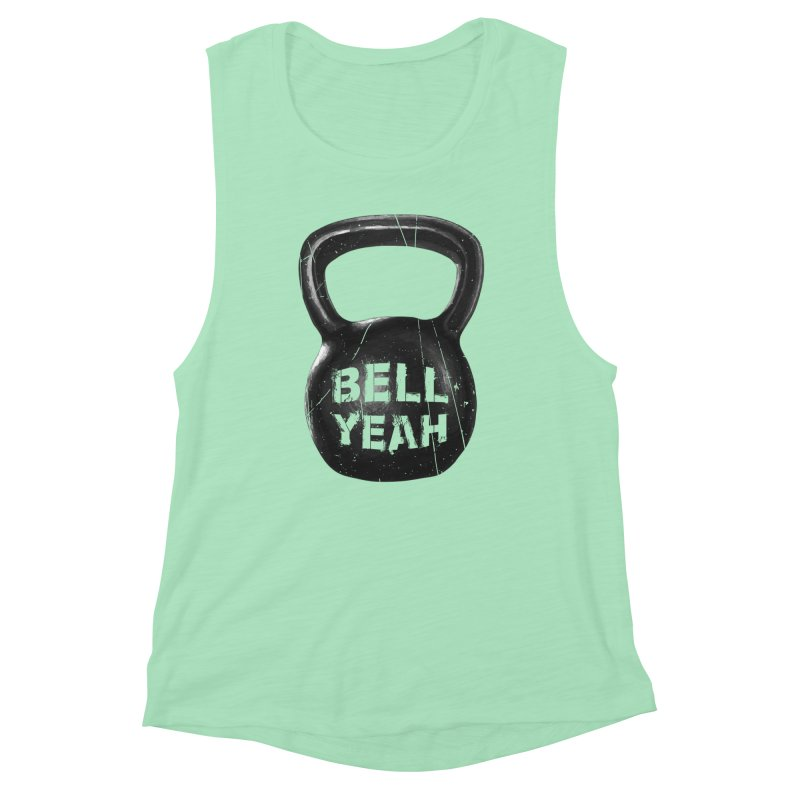 Bell Yeah Women's Muscle Tank by 9th Mountain Threads