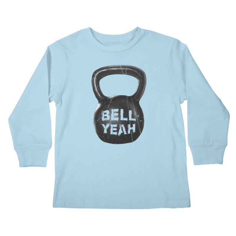 Bell Yeah Kids Longsleeve T-Shirt by 9th Mountain Threads
