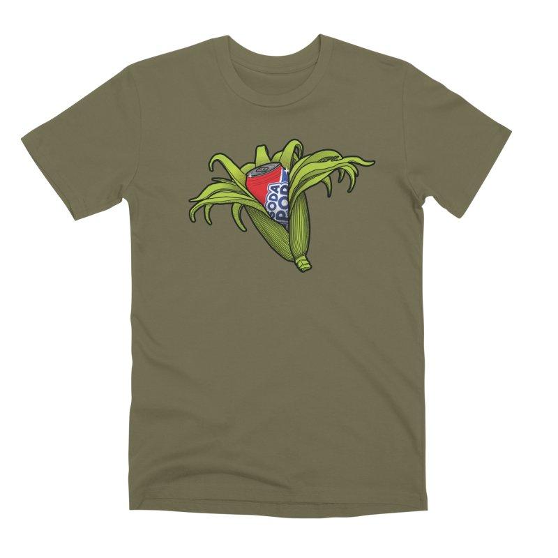 Pop Corn Men's Premium T-Shirt by 9th Mountain Threads