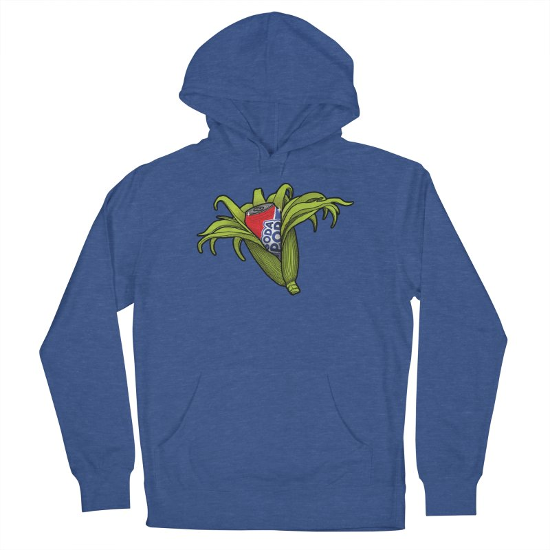 Pop Corn Women's French Terry Pullover Hoody by 9th Mountain Threads
