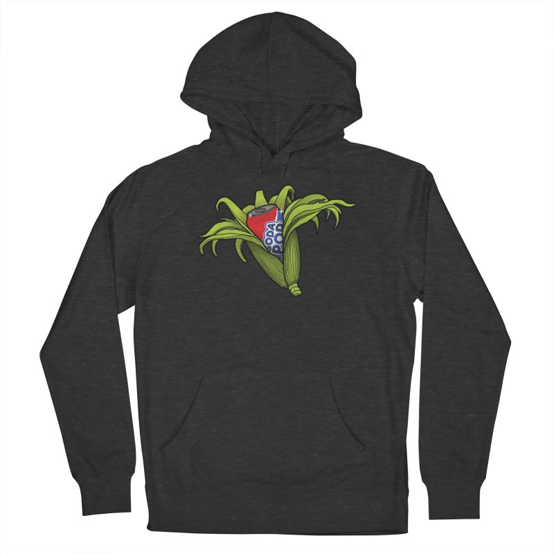 Pop Corn Men's French Terry Pullover Hoody by 9th Mountain Threads