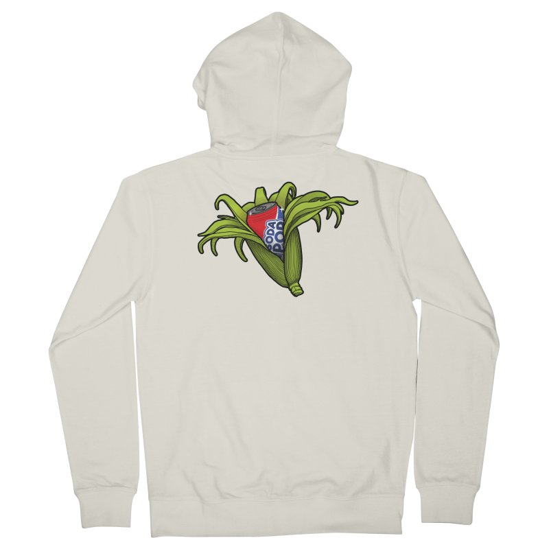 Pop Corn Women's French Terry Zip-Up Hoody by 9th Mountain Threads