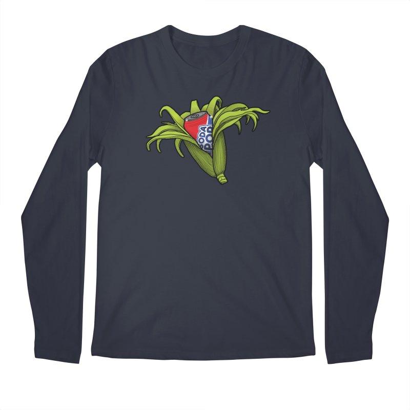 Pop Corn Men's Regular Longsleeve T-Shirt by 9th Mountain Threads