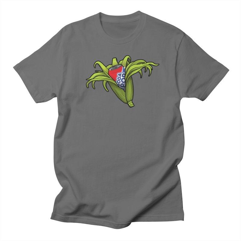 Pop Corn Men's T-Shirt by 9th Mountain Threads