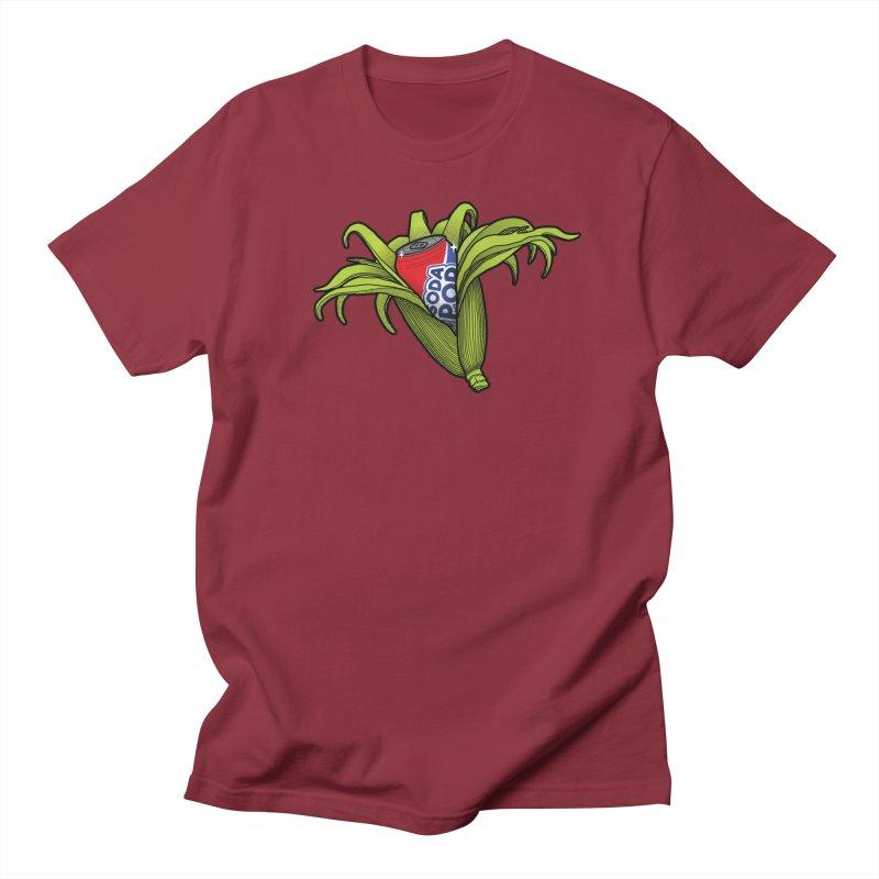Pop Corn Women's Regular Unisex T-Shirt by 9th Mountain Threads