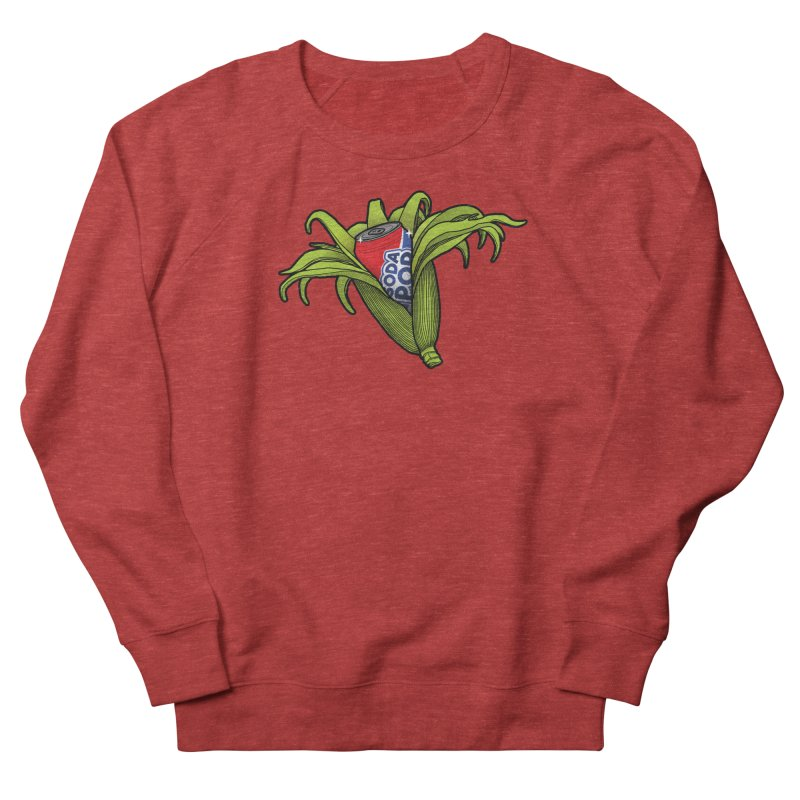 Pop Corn Women's French Terry Sweatshirt by 9th Mountain Threads