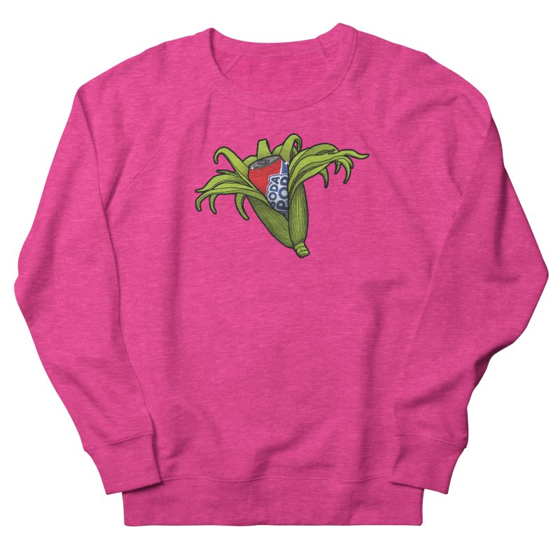 Pop Corn Women's French Terry Sweatshirt by 9th Mountain Threads