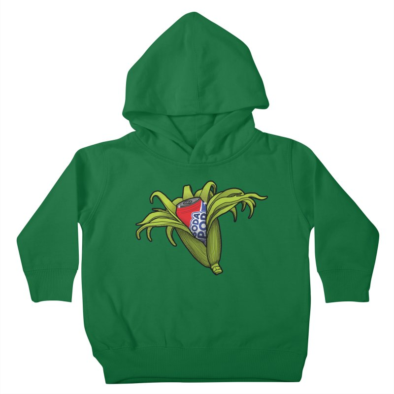 Pop Corn Kids Toddler Pullover Hoody by 9th Mountain Threads