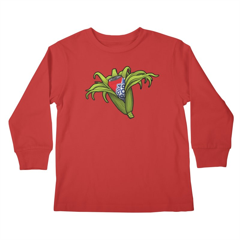 Pop Corn Kids Longsleeve T-Shirt by 9th Mountain Threads