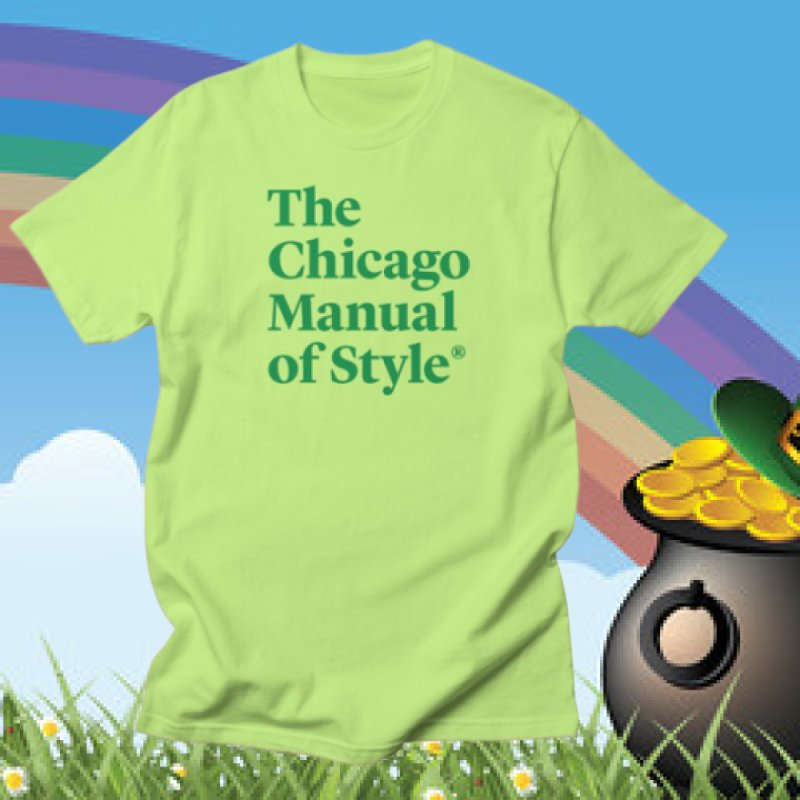 Irish Eyes Are Smiling in Men's Regular T-Shirt Neon Green by Chicago Manual of Style