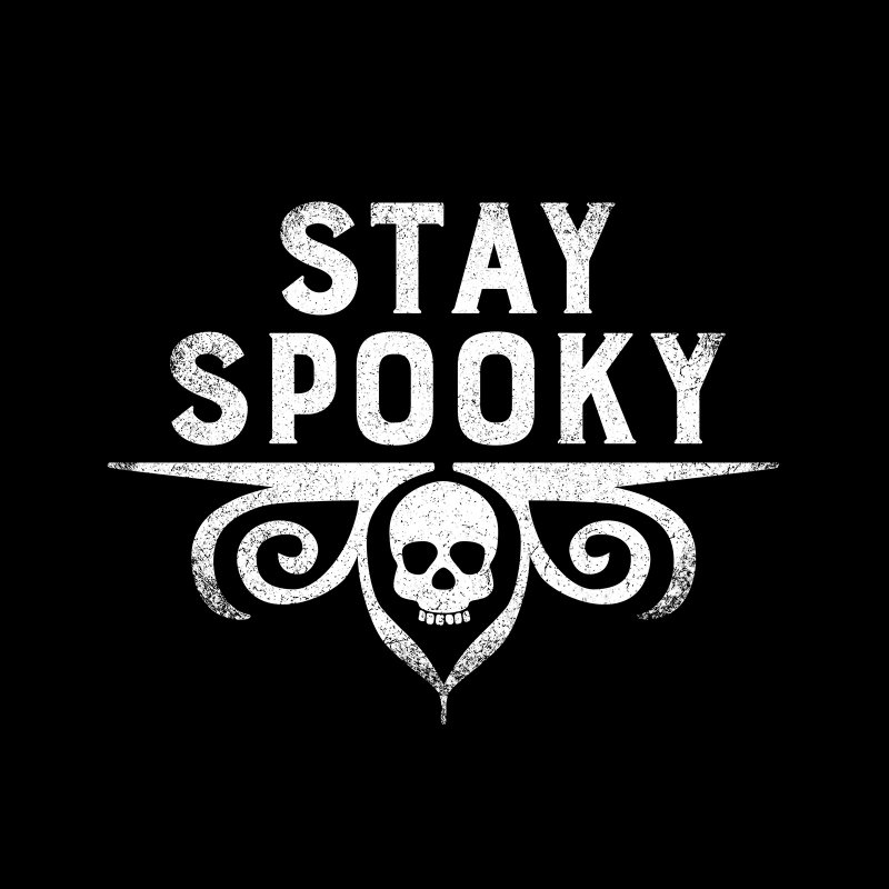 Stay Spooky by Crowglass Design