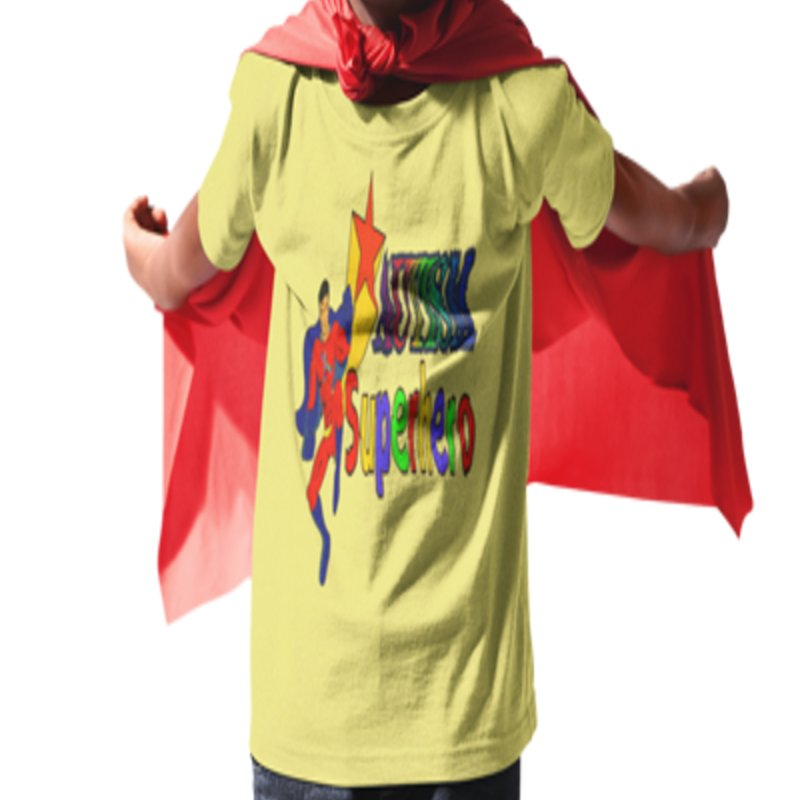 Autism Superhero by Divinitium's Clothing and Apparel