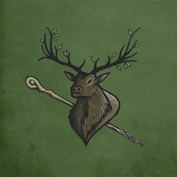 Design for Heraldic Elk | Emblem of the Darasfaerim