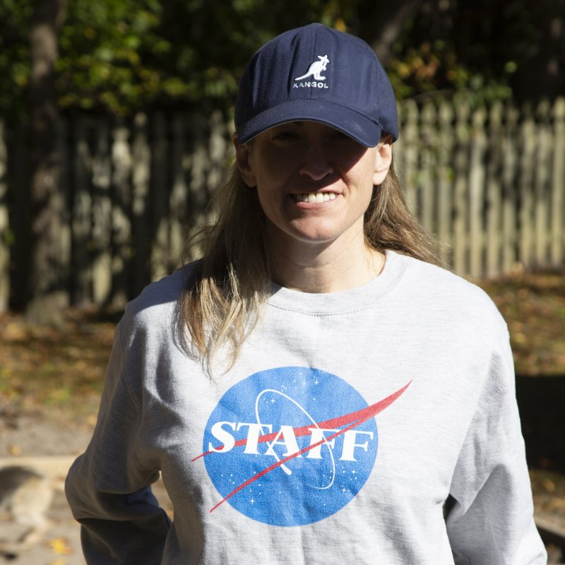 NASA Staff in Men's French Terry Sweatshirt Heather Graphite by HIDENbehindAroc's Shop