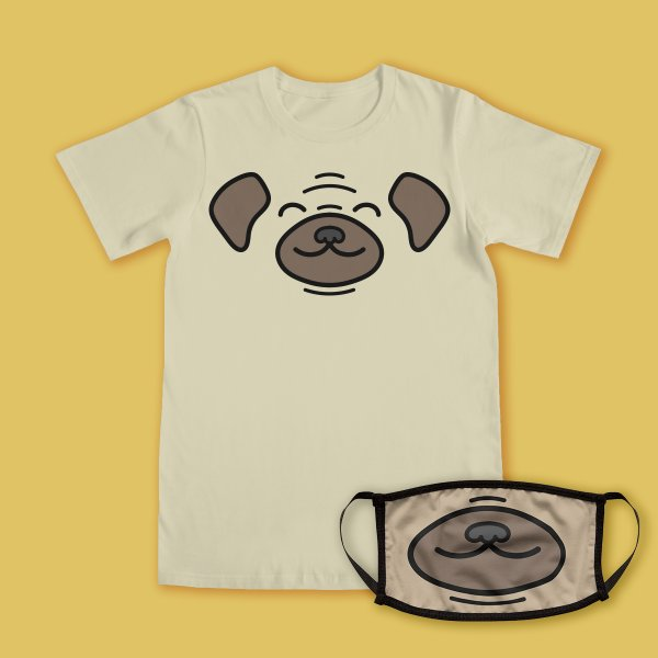 Design for Happy Pug
