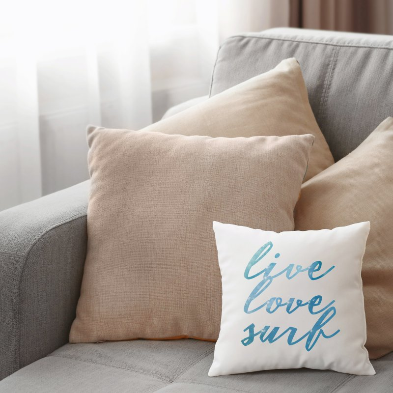 Live Love Surf in Throw Pillow by Kingdomatheart's Artist Shop