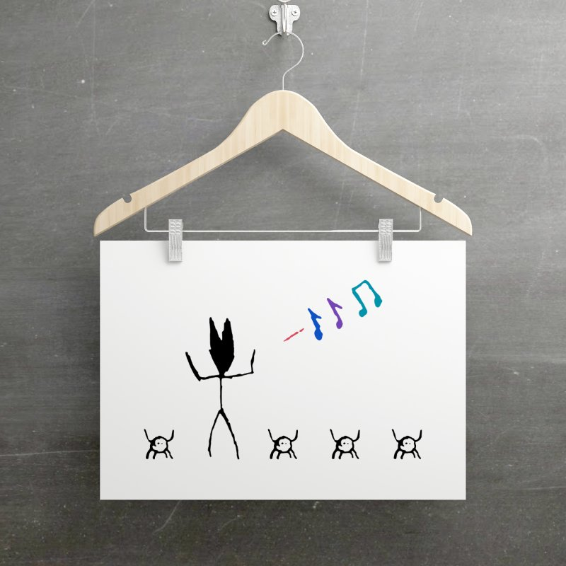 Spider Dance in Fine Art Print by The Little Fears
