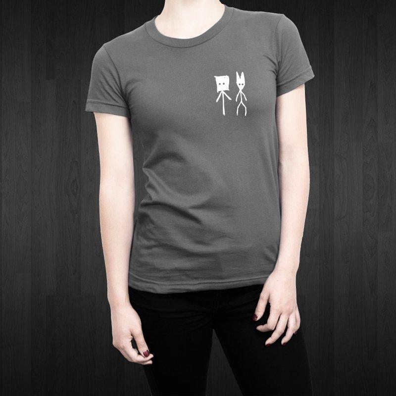 Sprite & Spectre in Women's Fitted T-Shirt Heavy Metal by The Little Fears
