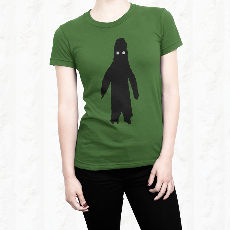 Moss in Women's Extra Soft T-Shirt Asphalt by The Little Fears