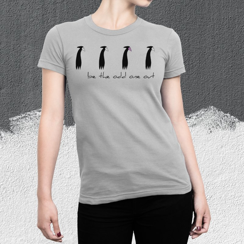 be the odd one out in Men's Extra Soft T-Shirt Asphalt by The Little Fears