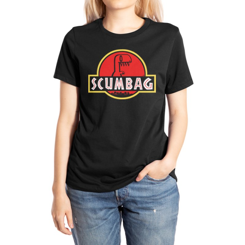 2DD - Scumbag Women's T-Shirt in Women's Extra Soft T-Shirt Black by NathanHamill's Artist Shop