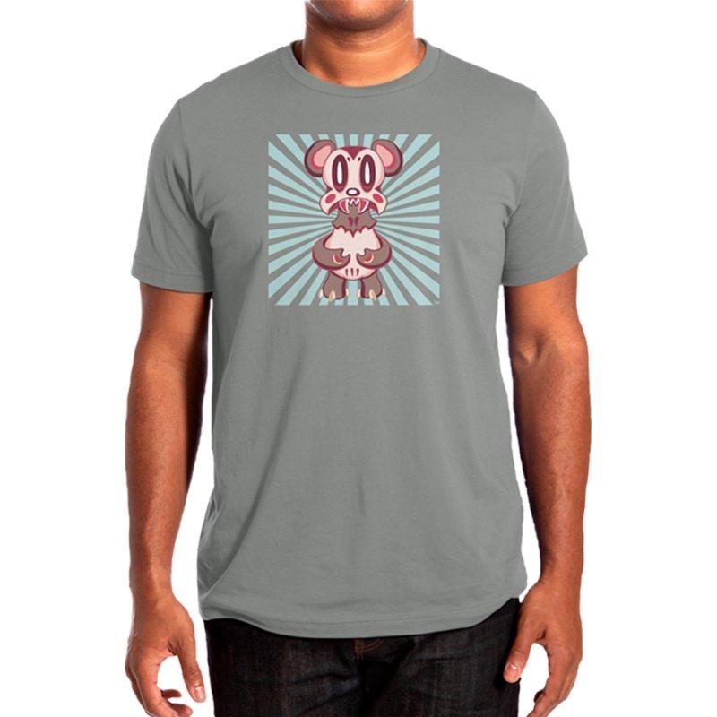 Lavabear Men's T-Shirt in Men's Regular T-Shirt Asphalt by Nathan Hamill