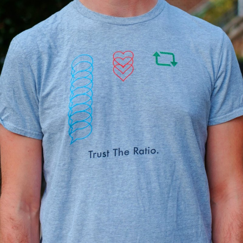 Trust The Ratio by Not Bad Tees