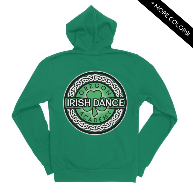Zip Up Hoodies by Oregon Irish Dance Academy