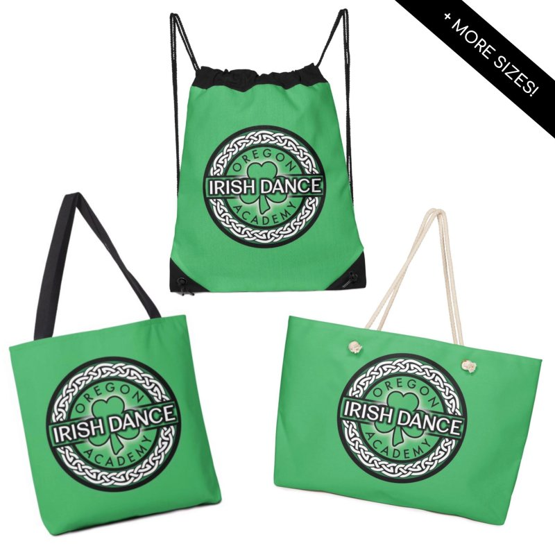 Bags by Oregon Irish Dance Academy