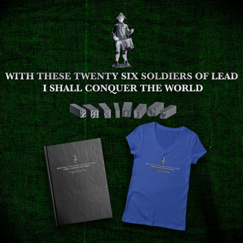 26 Soldiers of Lead by Peregrinus Creative