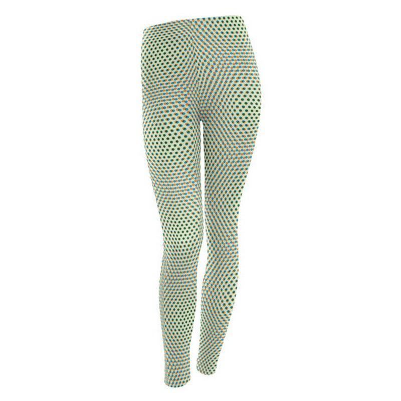 Moire Leggings 1 by Puttyhead's Artist Shop