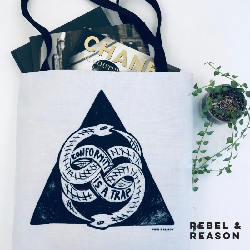 Conformity Is A Trap (Snake Edition) by Rebel & Reason
