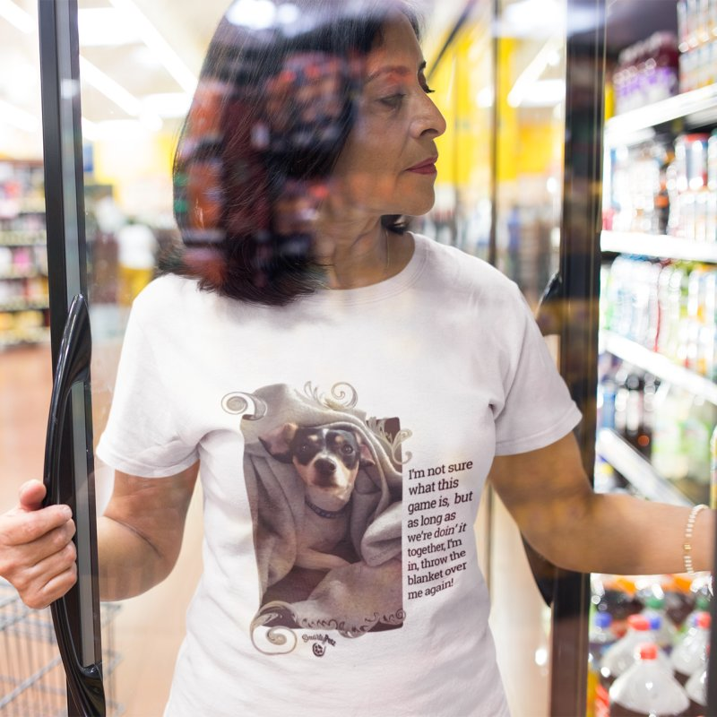 Doing it together. in Women's Extra Soft T-Shirt White by Smarty Petz's Artist Shop
